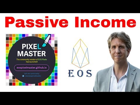 Earn Passive Income With EOS PixelMaster – The Latest EOS Game Endorsed by Dan Larimer