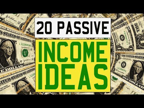 20 Passive Income Ideas to Get RICH