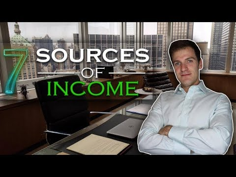 OVER 7 SOURCES OF INCOME – PASSIVE WAYS TO BECOME A MILLIONAIRE ONLINE!