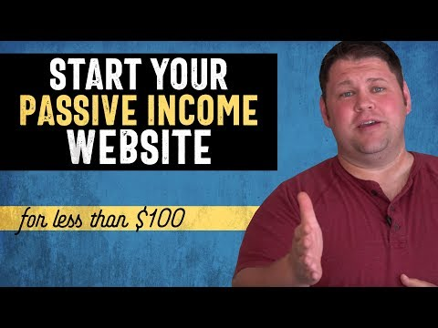 How Much Does It Cost to Start a Passive Income Website