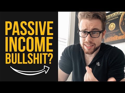 The Truth About Passive Income? ?