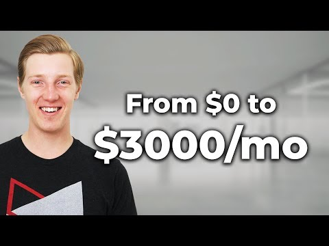 My Passive Income Story ($0 – $3000/month by age 24)
