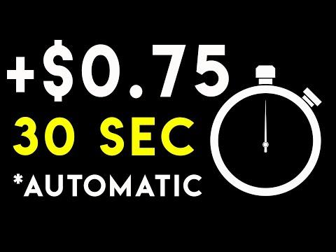 Get $0.75 EVERY 30 Sec (PASSIVE INCOME)