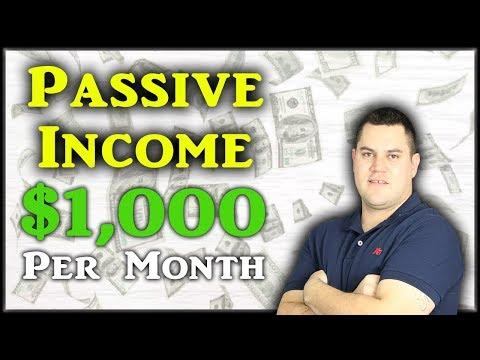 Make $1,000 Per Month In Passive Income