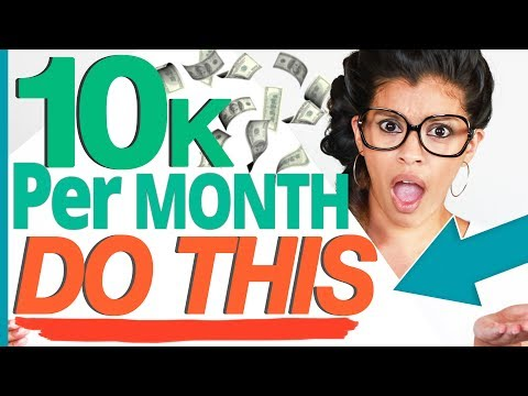 Passive Income: How to Make $10,000 a Month Being A YouTuber