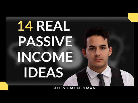 14 Real Passive Income Ideas to start Now
