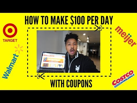 How To Make $100 Per Day With Coupons 💰[PASSIVE INCOME]💰