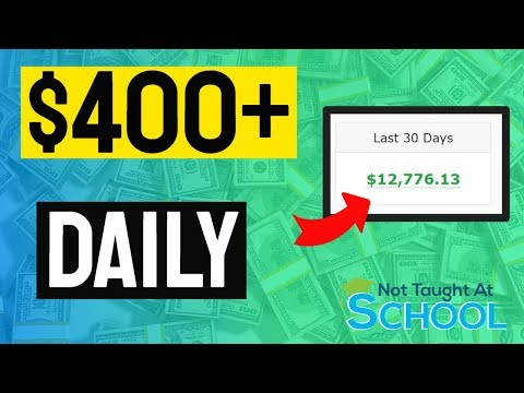 5 Passive Income Ideas – How I Earn Over $400 A Day!