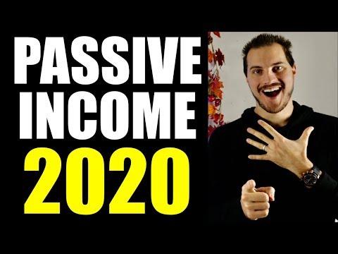 Top 5 Passive Income Ideas 2020