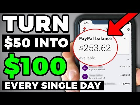 Kevin David – 3 Ways To Turn $50 Into $100 PER DAY (Passive Income Ideas!)