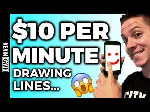 Make Money Drawing Lines – Worldwide Passive Income!