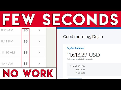 Automatic $5.00 In Seconds Again & Again – UNLIMITED! (Passive Income)
