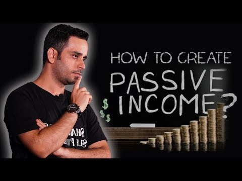 How to create passive income?