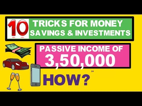 10 useful money investment tricks passive income of 3,50,000 Rs per month mutual funds investment
