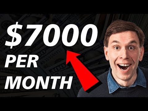 7 PASSIVE INCOME IDEAS That'll Make YoU $7000+ PER MONTH Online!