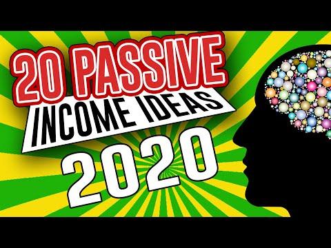 Top 20 Passive Income Ideas for 2020!