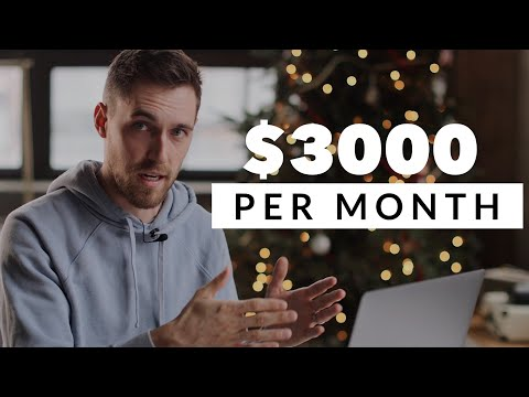 $3000 per MONTH in PASSIVE INCOME as a Youtuber/Photographer
