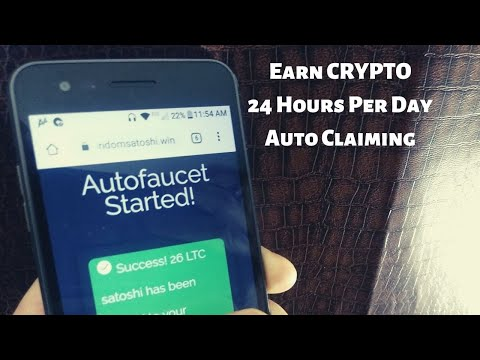Earn Passive Income Auto Claiming Litecoin 24 Hours Per Day (No Mining)