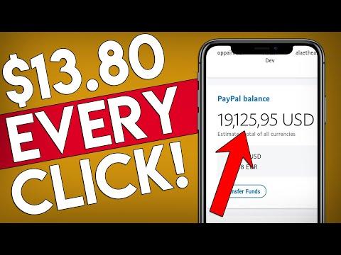 Get $13.80 PER Click For FREE – WORLDWIDE! (Passive Income)