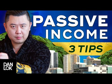 3 Things You Need To Know About Passive Income