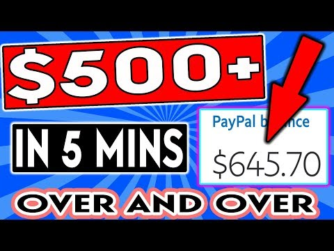 EARN $500+ For 5 Mins Work in Passive Income 🔥ANYBODY CAN DO THIS🔥 (Make Money Online)