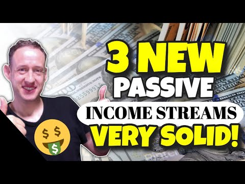 3 Passive income streams with years old between them very solid