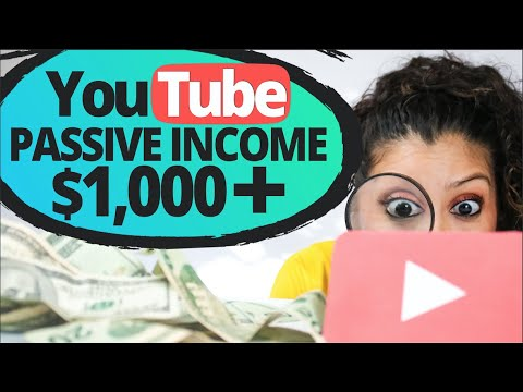 YouTube Passive Income Ideas That Earn $1000+ Per Month