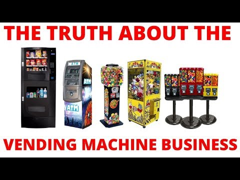 A Vending Machine Business Is NOT Passive Income