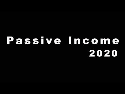 Passive Income for 2020: Earn $77 a Day (7 Ways)
