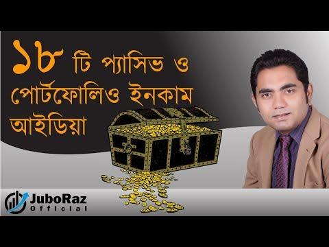 How To Generate Passive And Portfolio Income | Bangla Business Tutorial | JuboRaz