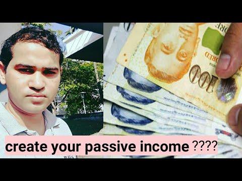 how to create passive income | passive income in india