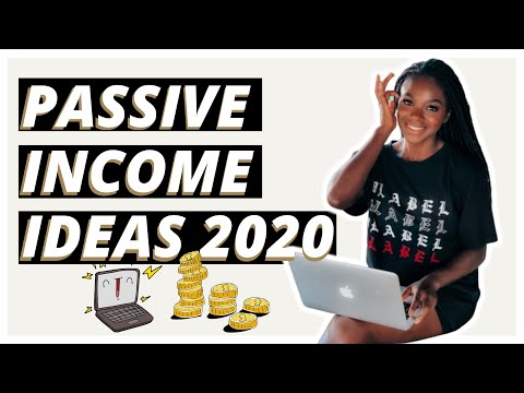 Passive Income Ideas For BEGINNERS 2020 🤩💸 | Make Money Online