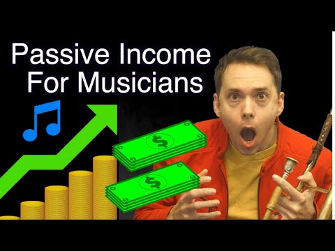 How to make money with music (5 passive income ideas for musicians)