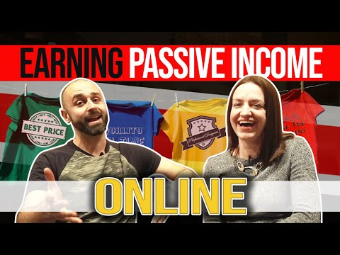 Passive Income Ideas 2020:  How to Start a T-Shirt Business From Home