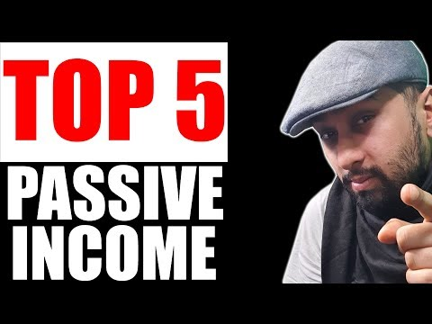 Top 5 Passive Income Ideas to Make Money Online