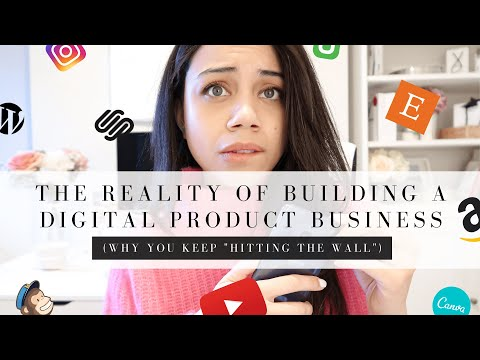 THE REALITY OF BUILDING A DIGITAL PRODUCT BUSINESS IN 2020 | PASSIVE INCOME BUSINESS IN 2020!