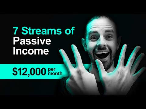 7 Passive Income Ideas: How I Make $12,000 A Month