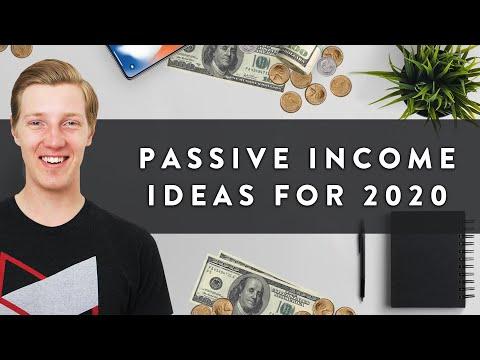 5 Passive Income Ideas to Start in 2020