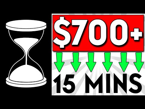 Earn $700+ In PASSIVE INCOME in 15 MINUTES (MAKE MONEY ONLINE)