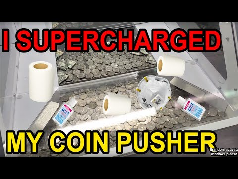 I SUPERCHARGED my Coin Pusher – A passive income RECORD