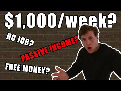 I Found The 6 BEST Passive Income Ideas