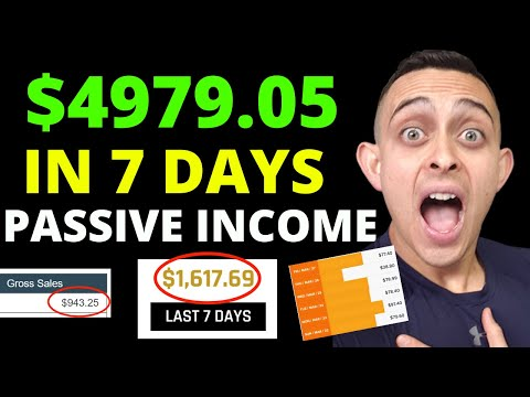 ($4979+ In 7 Days) *PROOF* | HOW TO MAKE PASSIVE INCOME ONLINE 2020 (Make Money From My Home)