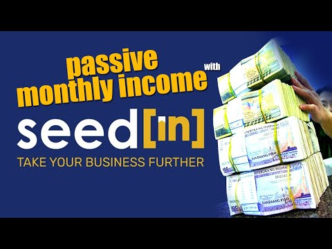 HOW TO INVEST IN SEEDIN & EARN MONTHLY PASSIVE INCOME