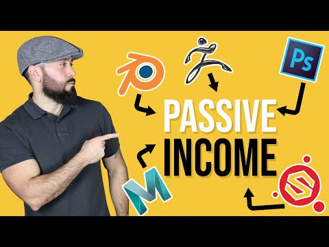 Make Passive Income Selling 3D Models and Digital Content Online.