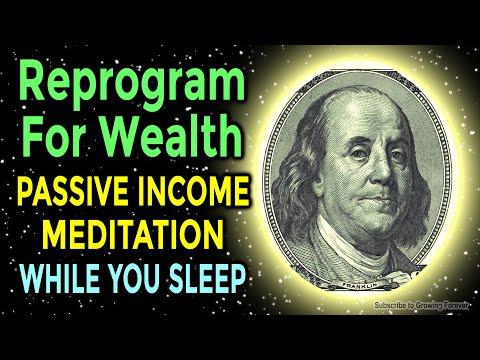 Sleep Programming Affirmations for PASSIVE INCOME – ★Powerful★ Wealth Meditation