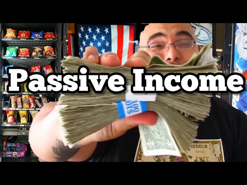 Collecting CASH MONEY from Vending Machine Business PASSIVE INCOME?