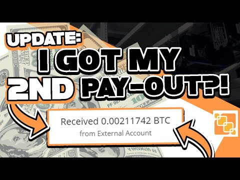 PASSIVE INCOME: HOW I GOT MY 2ND PAY-OUT? | Cloudmining Site: Mining-up Update + Honest Review