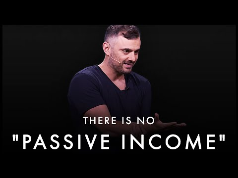 There Is No f***** PASSIVE INCOME! You Need To Put In The WORK – Gary Vaynerchuk | Motivational Talk