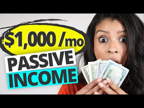 10 Passive Income Ideas – That Earn $1000+ Per Month💥