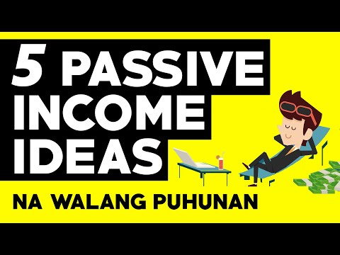5 Passive Income Streams Online Kahit Walang Puhunan | Passive Income Philippines | illustrados